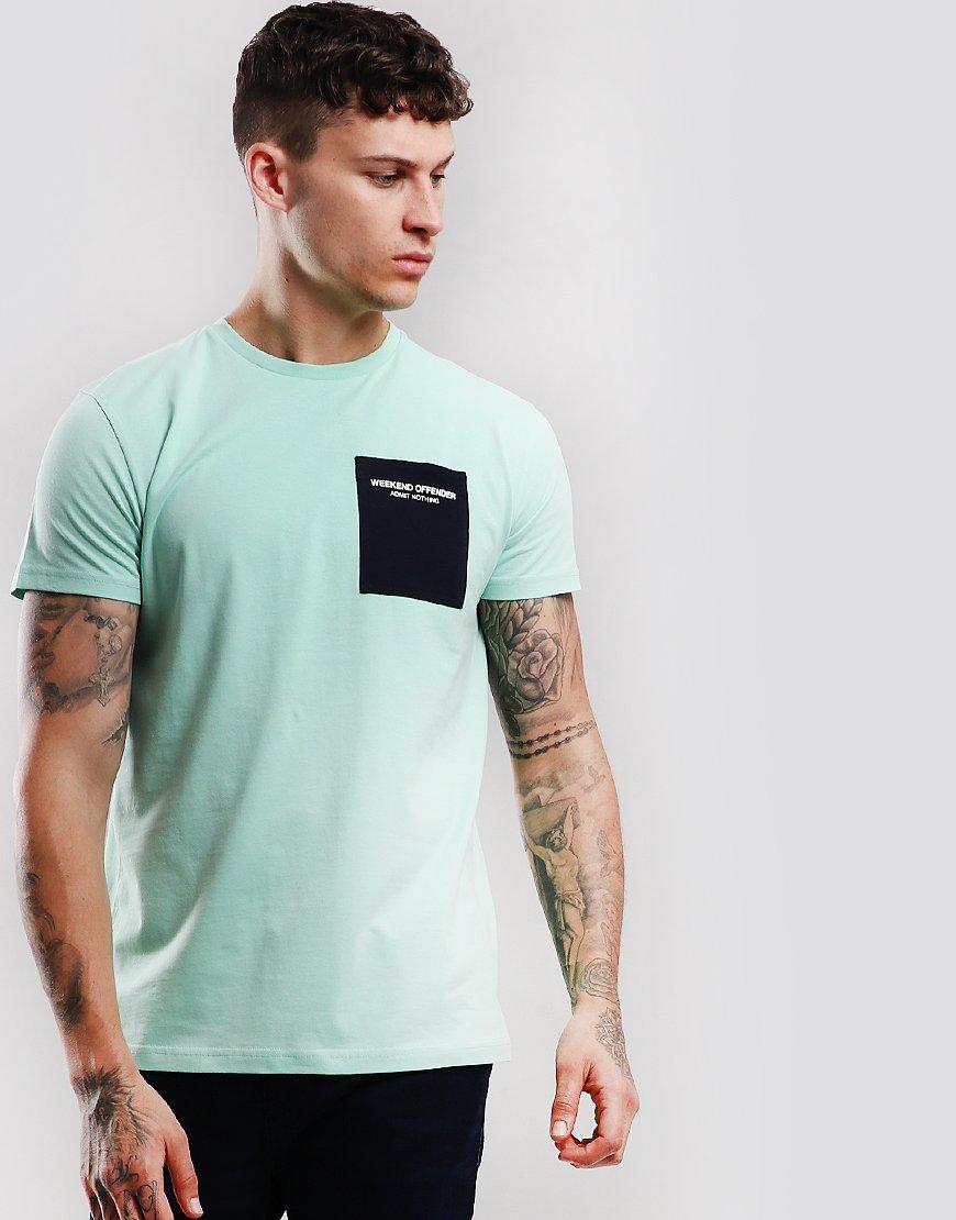 Weekend Offender Freaman T-Shirt Mint