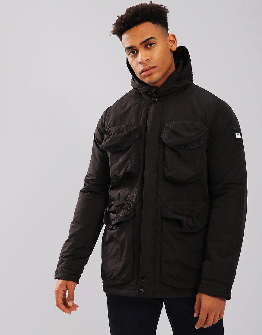 Weekend Offender Gans Hooded Jacket Black