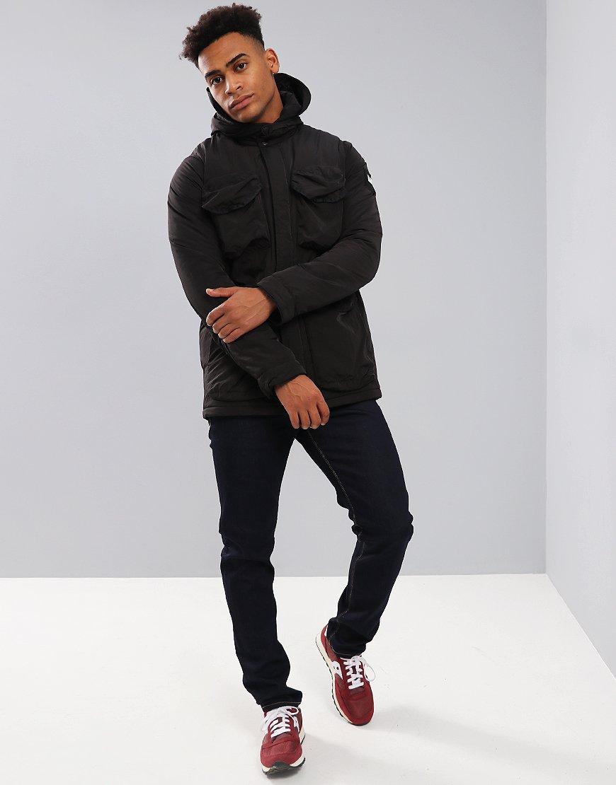 6c42d9b58e7d Weekend Offender Gans Hooded Jacket Black - Terraces Menswear