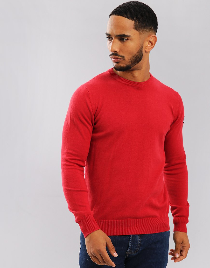 Weekend Offender Holmes Crew Knit Rust