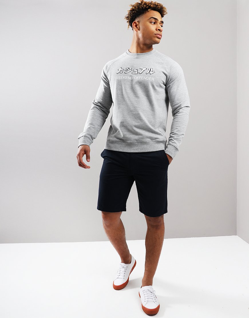 Weekend Offender Ivan Chino Shorts Navy