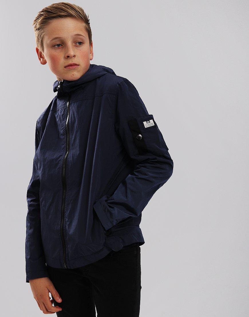 Weekend Offender Kids Dreyfuss Jacket Light Navy