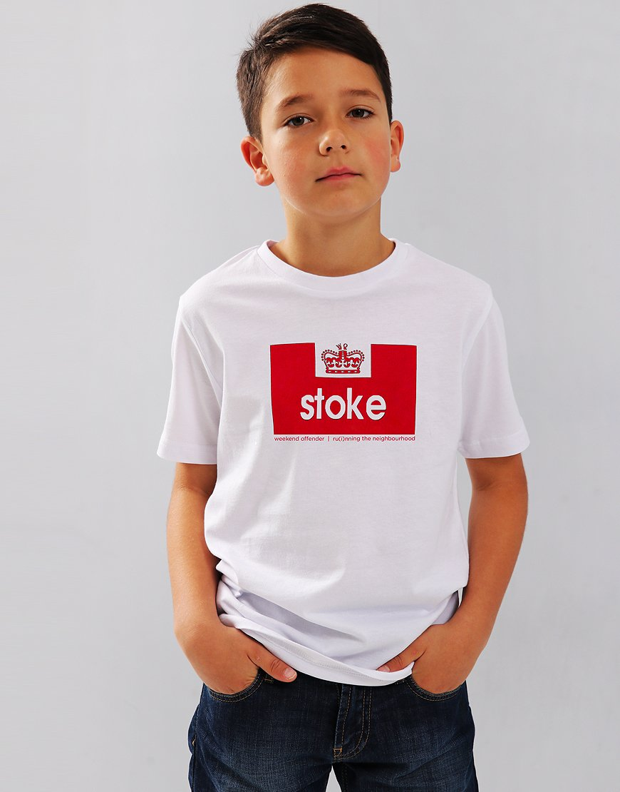 Weekend Offender Stoke T-Shirt White