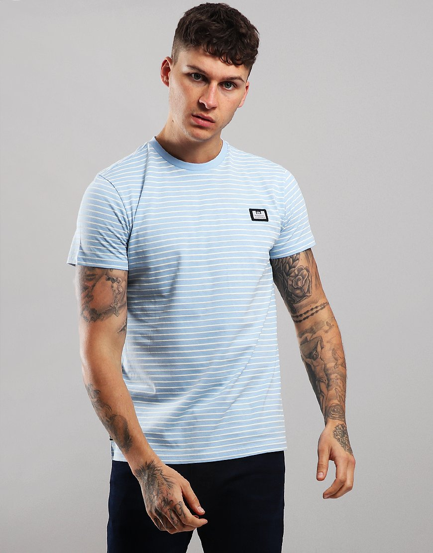 Weekend Offender Lester T-Shirt Sky/White
