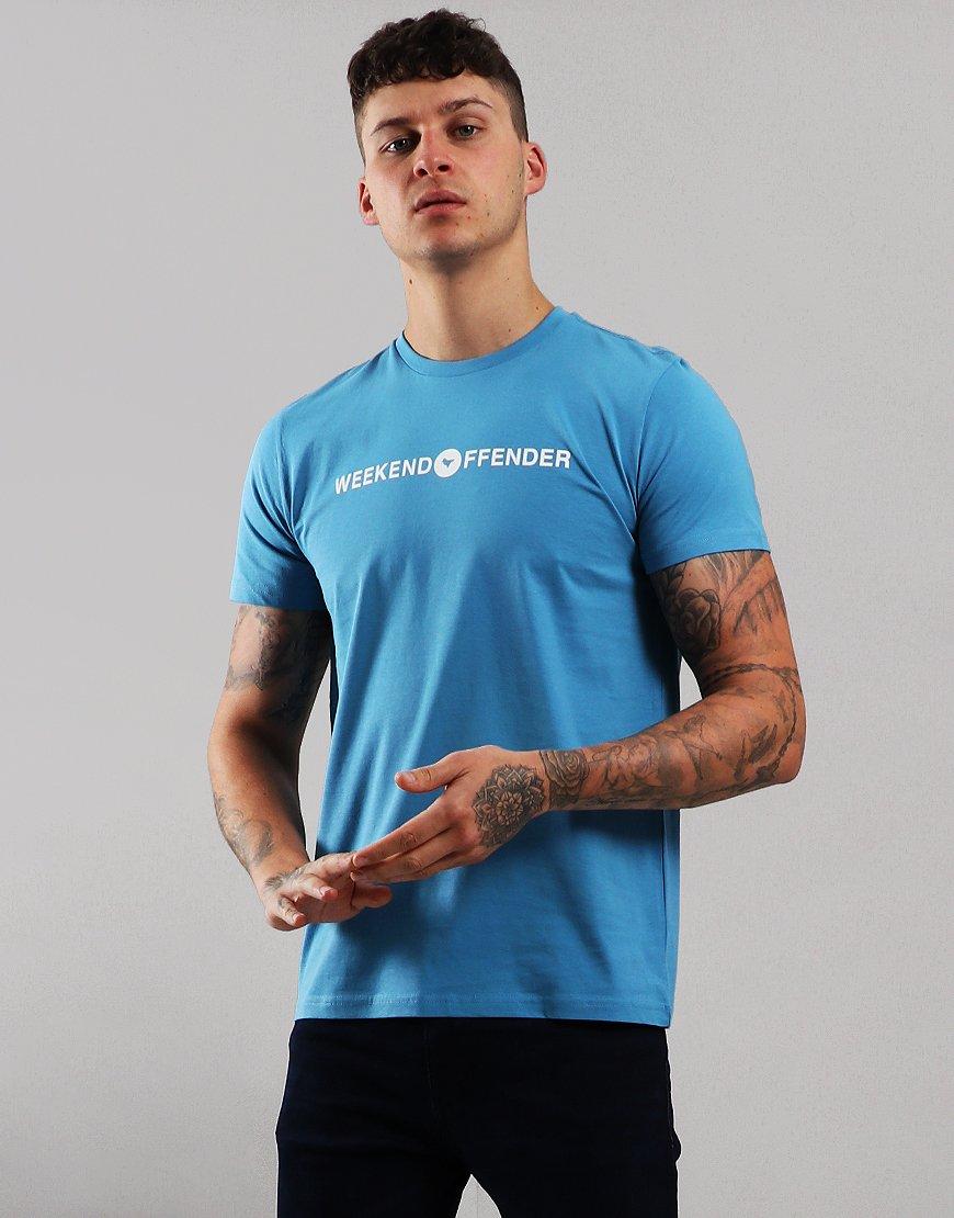 Weekend Offender Little T-Shirt Blue Steel