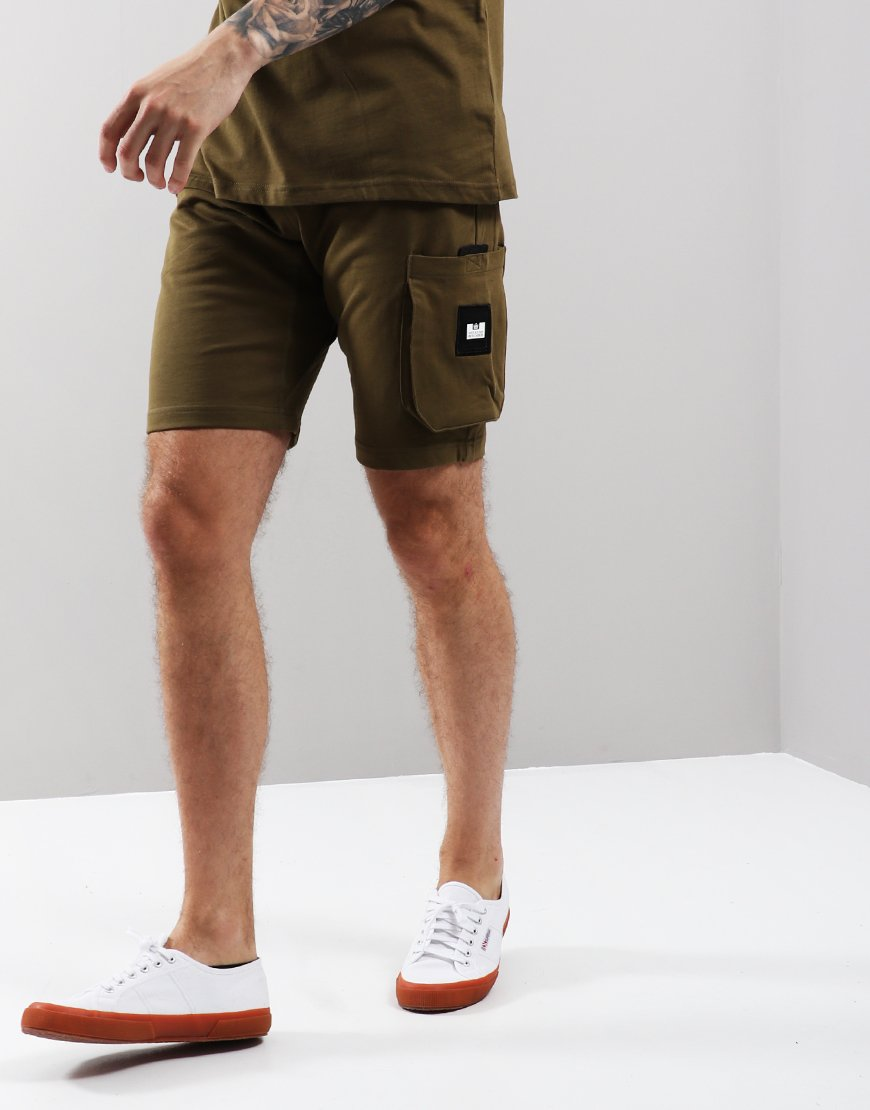 Weekend Offender Tonino Sweat Shorts Conifer