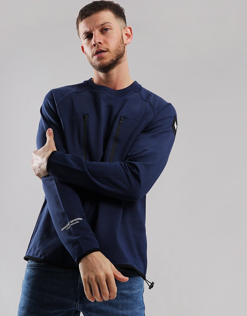 Weekend Offender Massimallano Sweat Navy