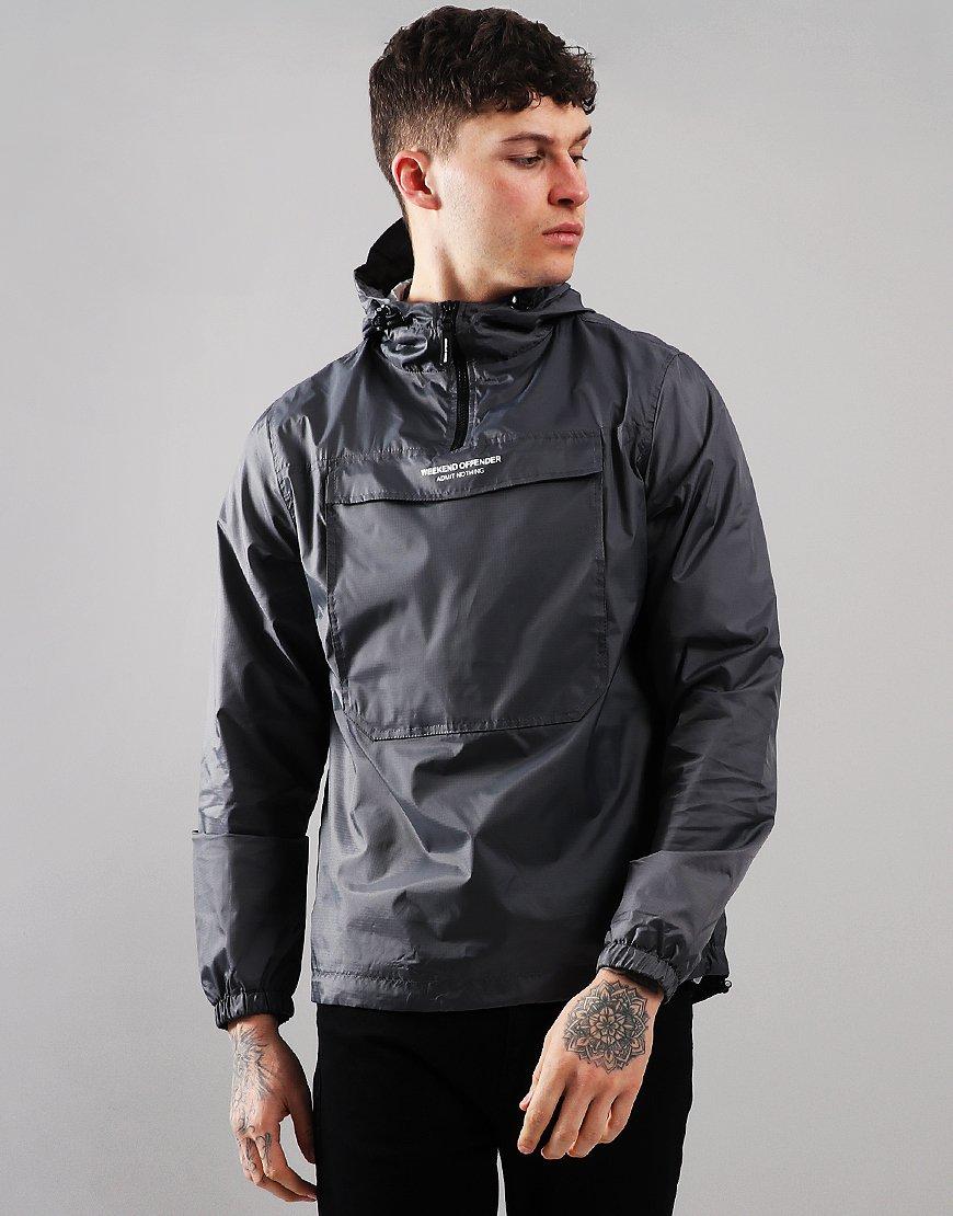 Weekend Offender Muller Jacket Charcoal