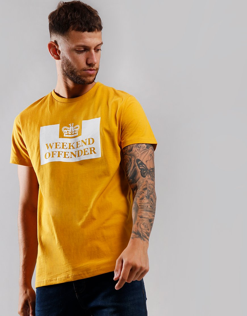 Weekend Offender Prison T-Shirt Manuka