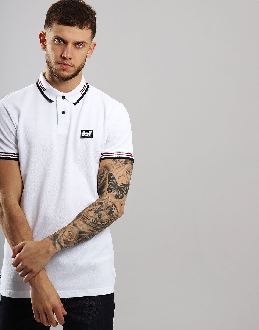 Weekend Offender Buzoni Polo Shirt White