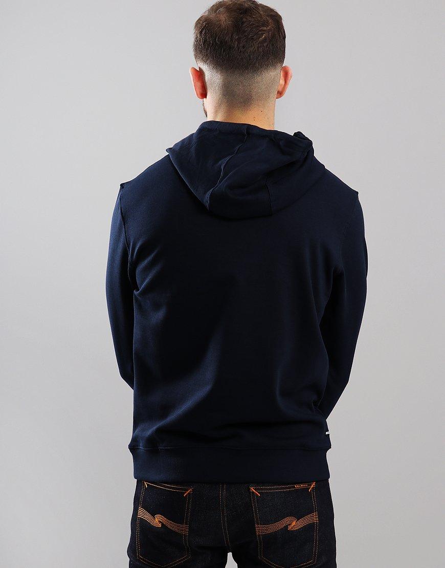 f8c116353 Weekend Offender Caplan Hoodie Navy - Terraces Menswear