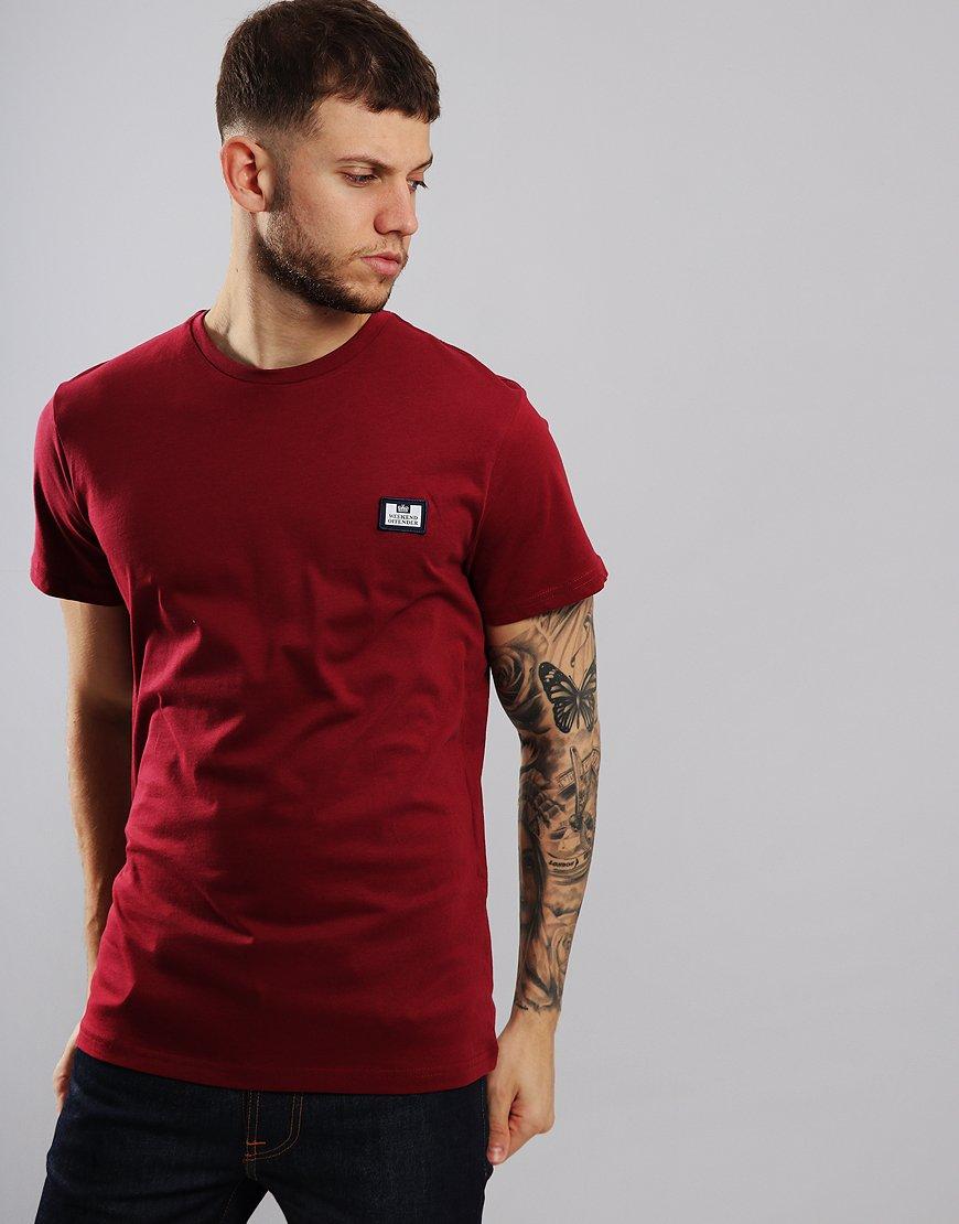 Weekend Offender Marceaux T-Shirt Garnet