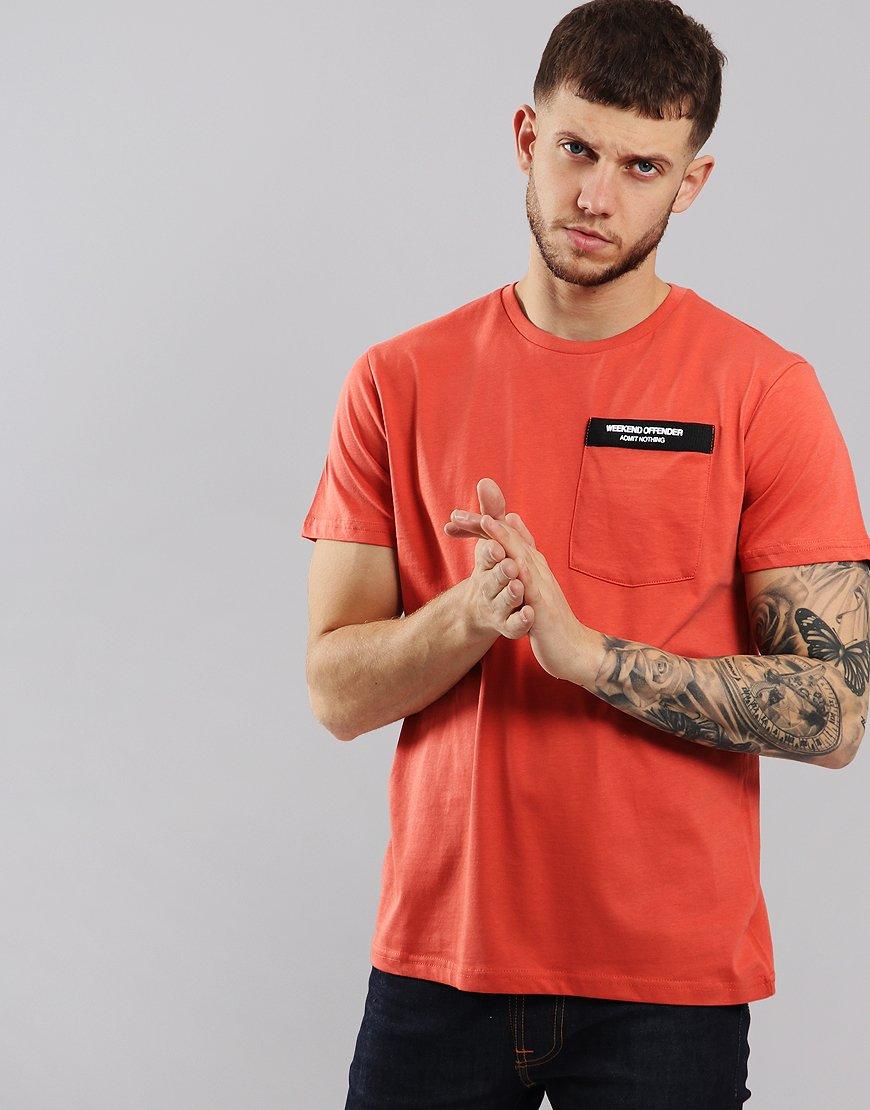 Weekend Offender Myra T-Shirt Burnt Orange
