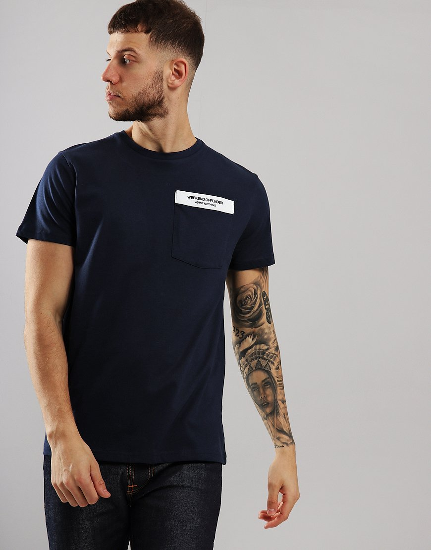 Weekend Offender Myra T-Shirt Navy