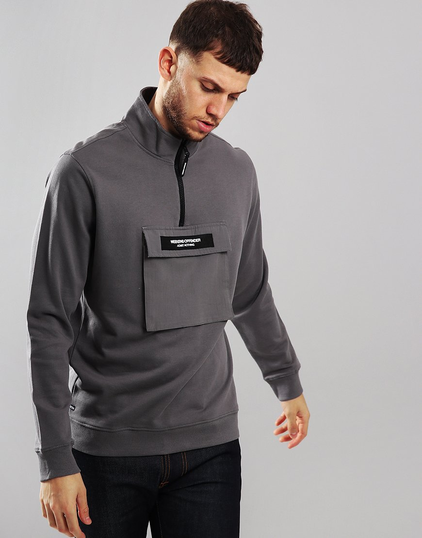Weekend Offender Serge Sweat Charcoal