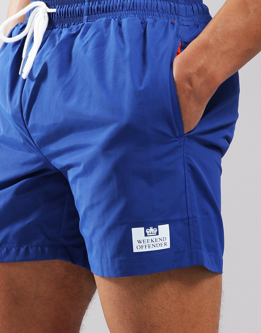 Weekend Offender Blueblood Swim Shorts Reef Blue