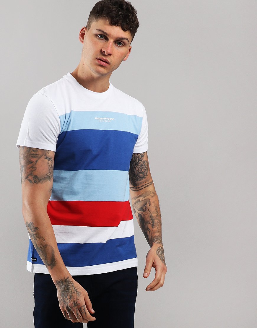 Weekend Offender Angelo T-Shirt Chilled