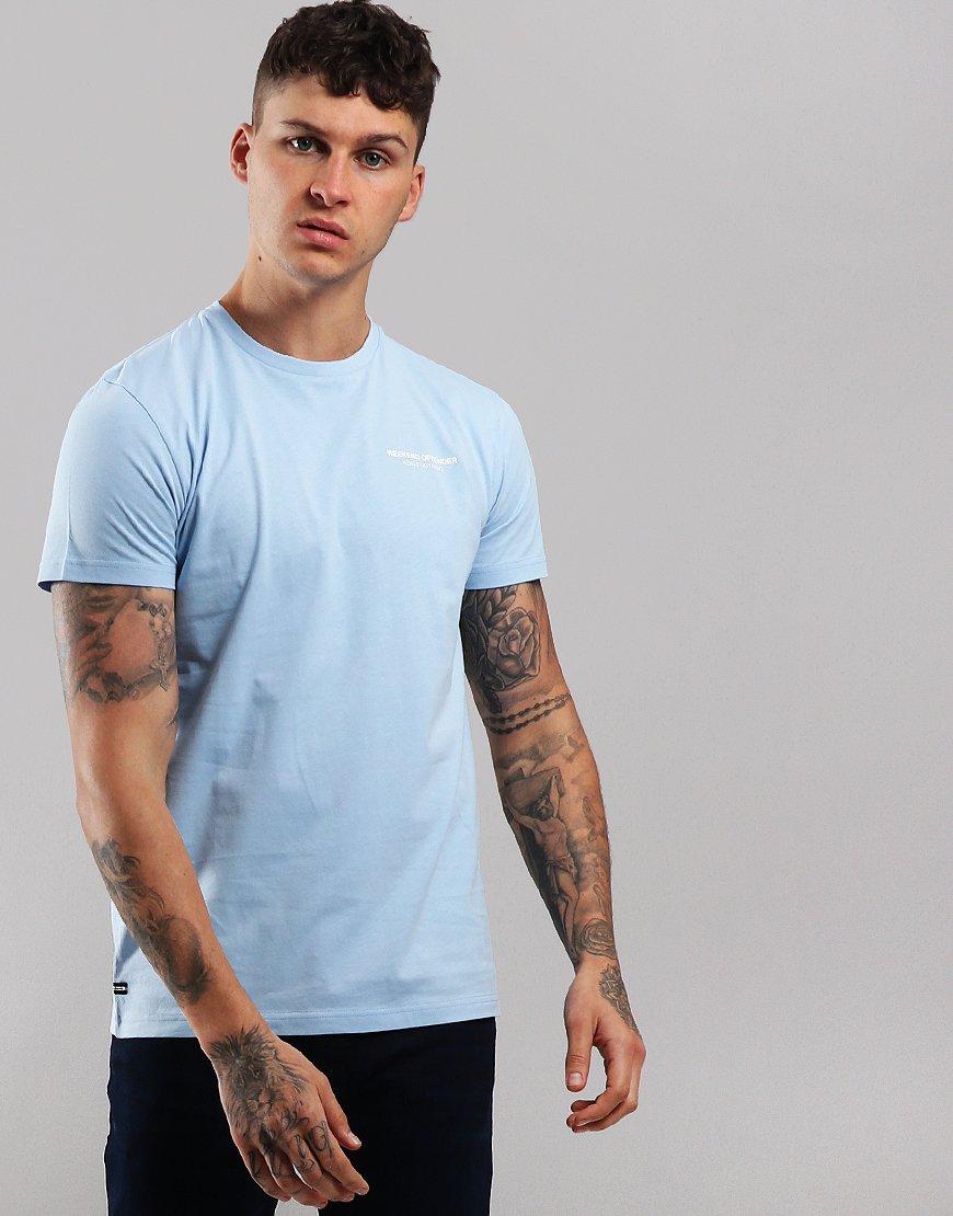 Weekend Offender Barkside T-Shirt Sky
