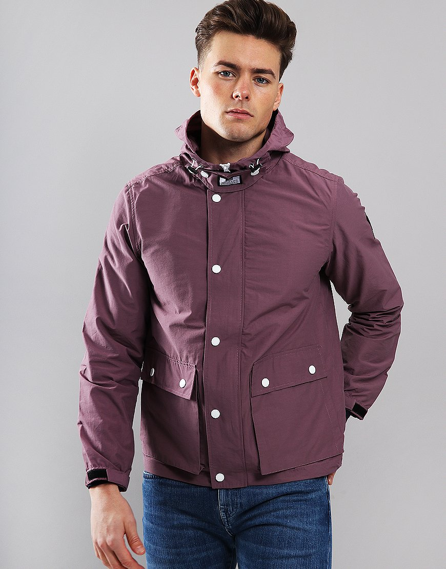 Weekend Offender Ciro Jacket Plum