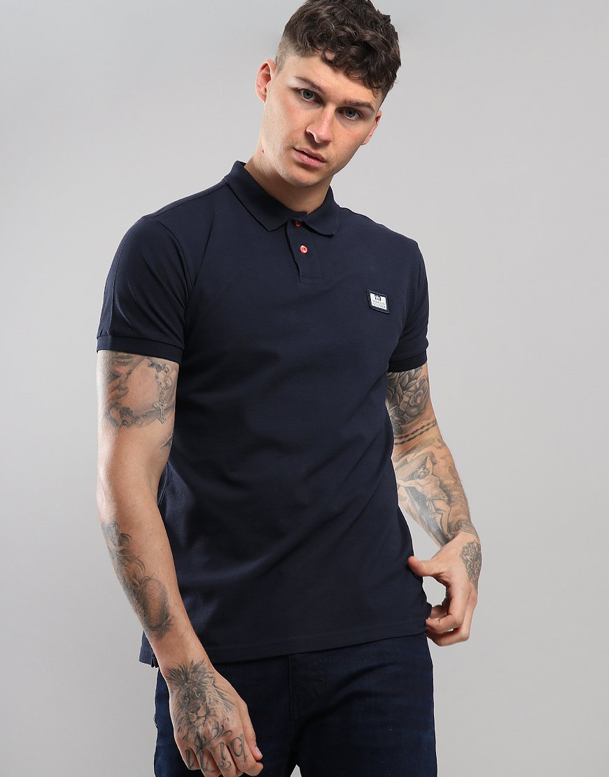 Weekend Offender Claudio Polo Shirt Navy