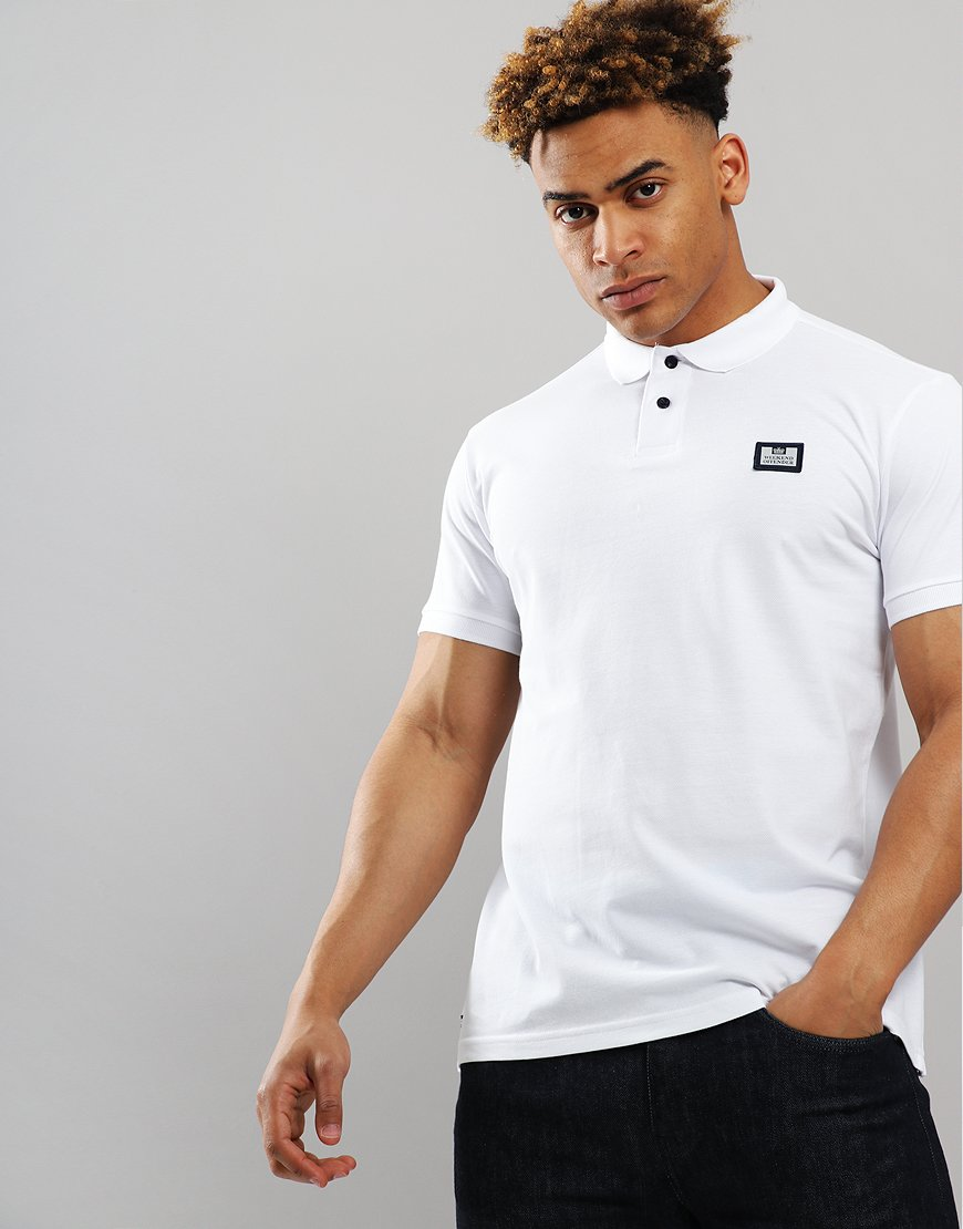 Weekend Offender Claudio Polo Shirt White