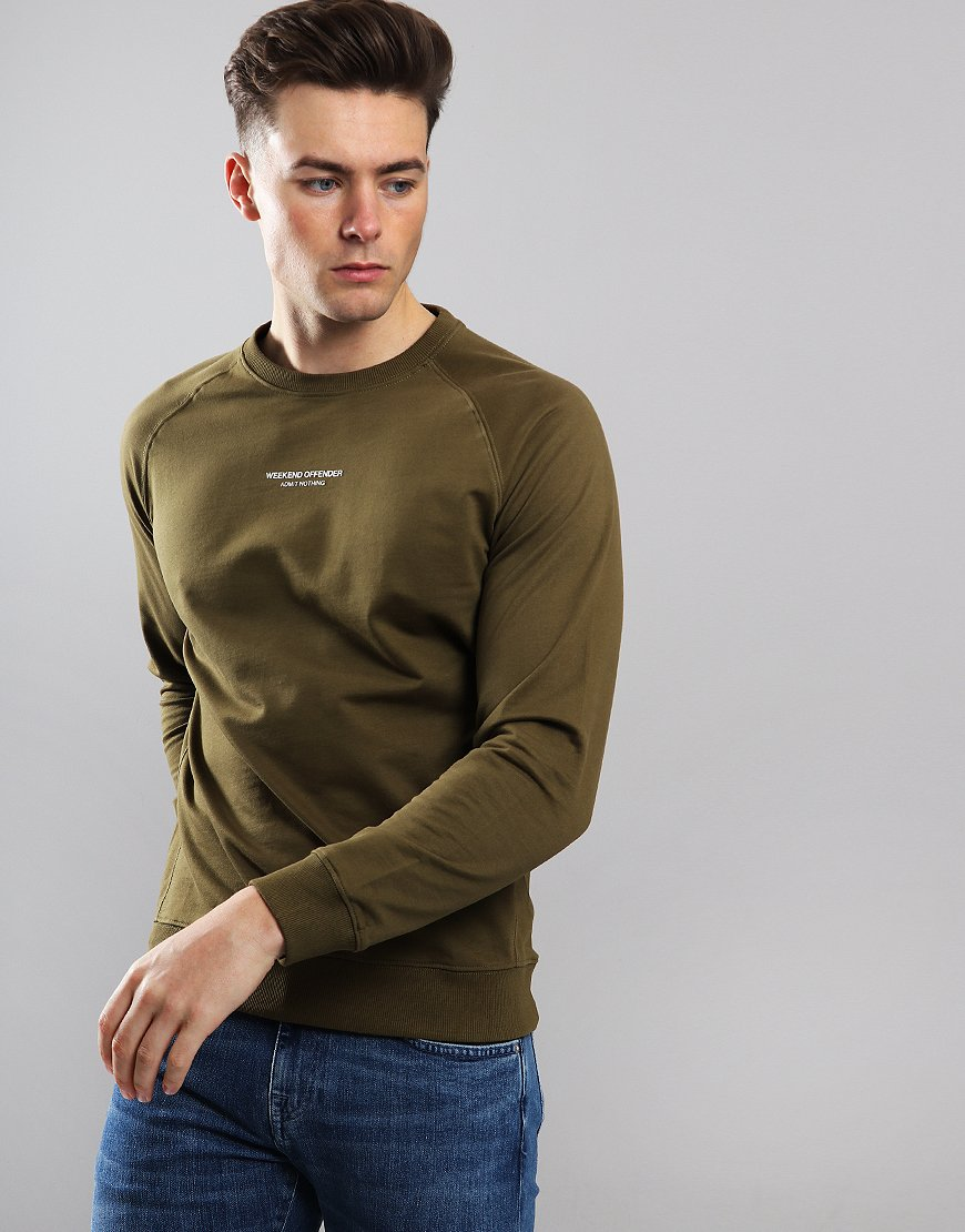 Weekend Offender Esposito Sweat Conifer