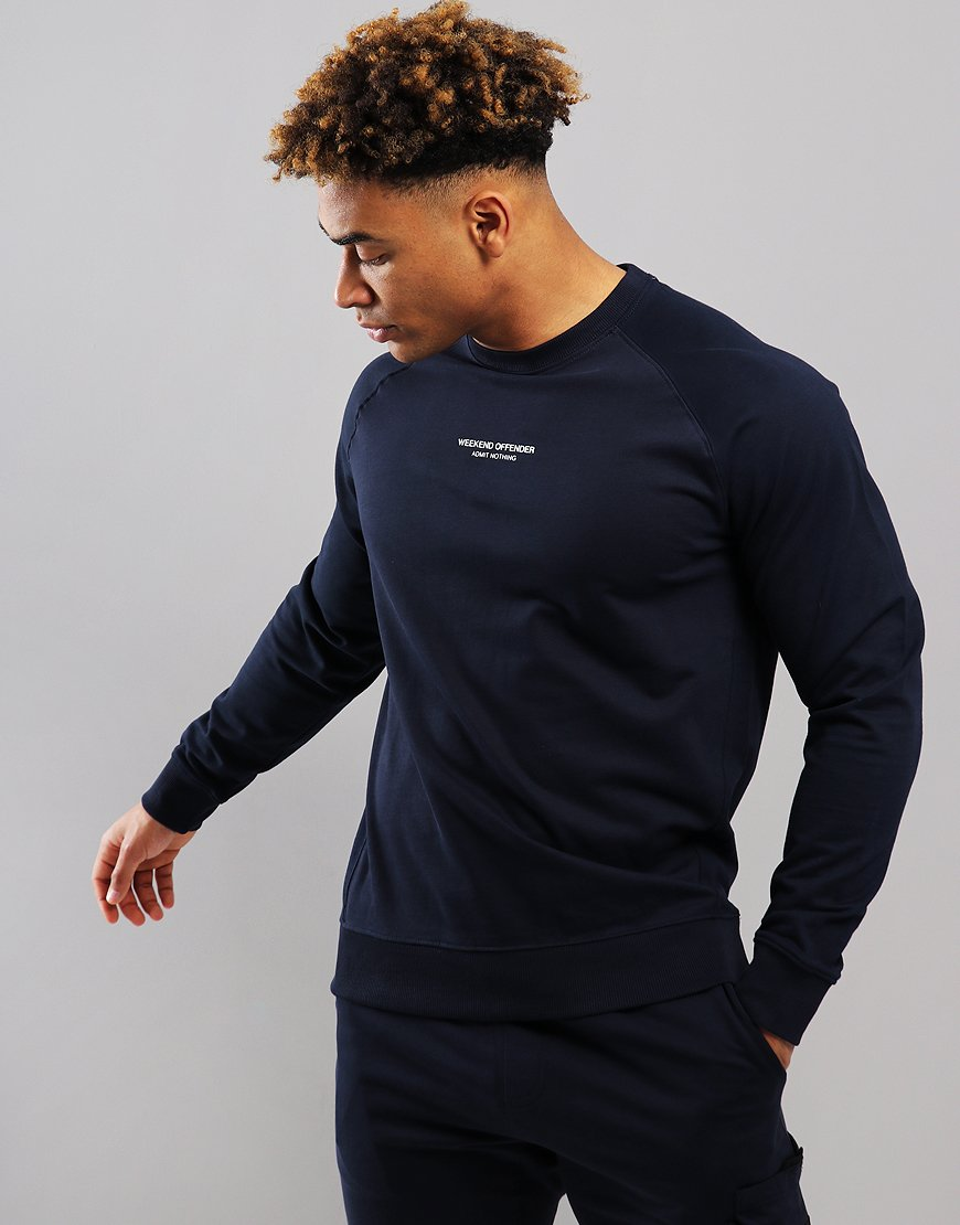 Weekend Offender Esposito Sweat Navy
