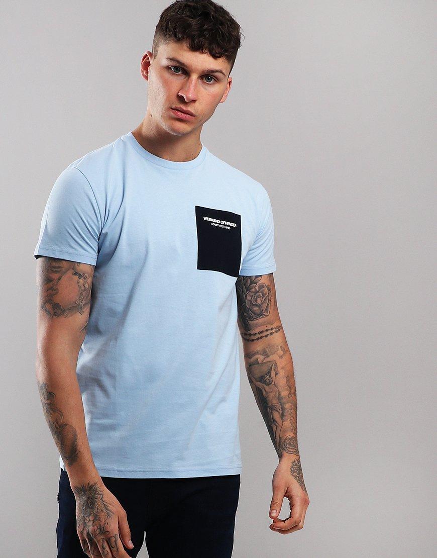 Weekend Offender Freaman T-Shirt Sky