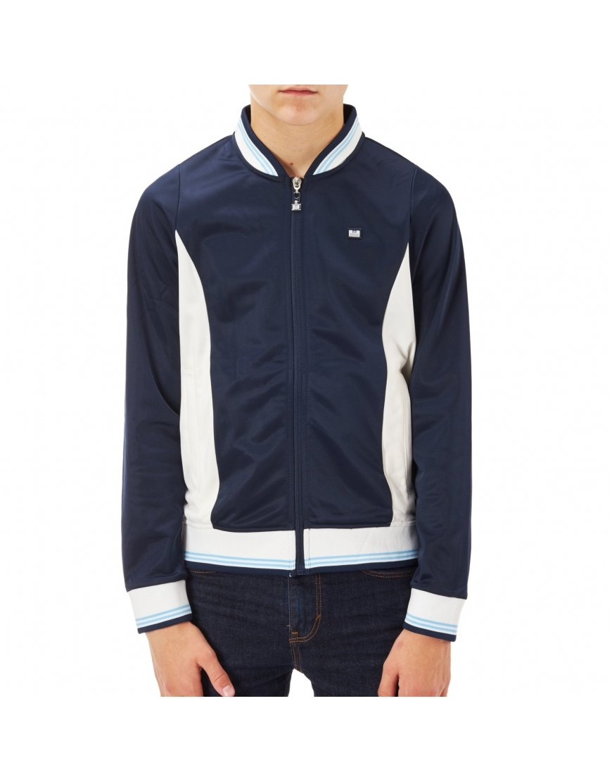 Weekend Offender Kids Chavez Track Top Navy