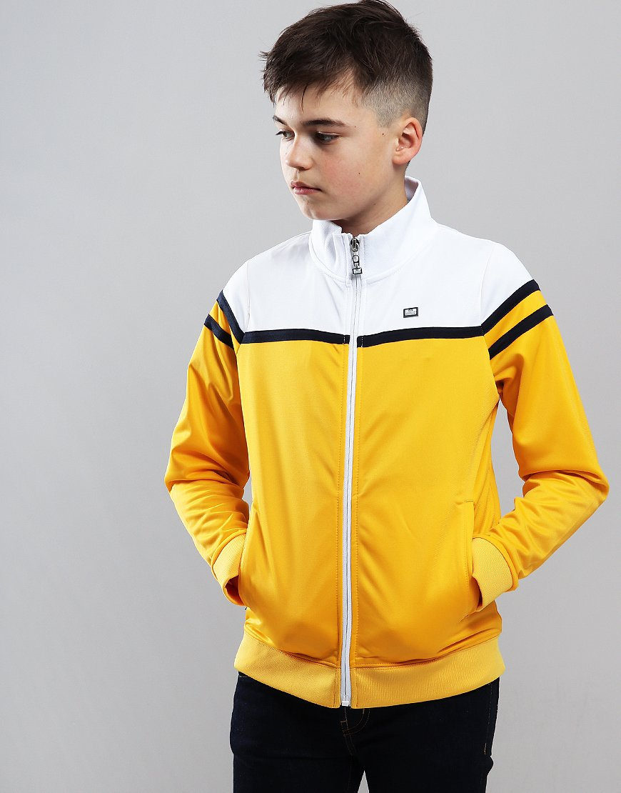 Weekend Offender Kids Moore Track Top Gold