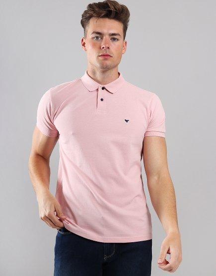 Weekend Offender Palvetti Polo Shirt Rose