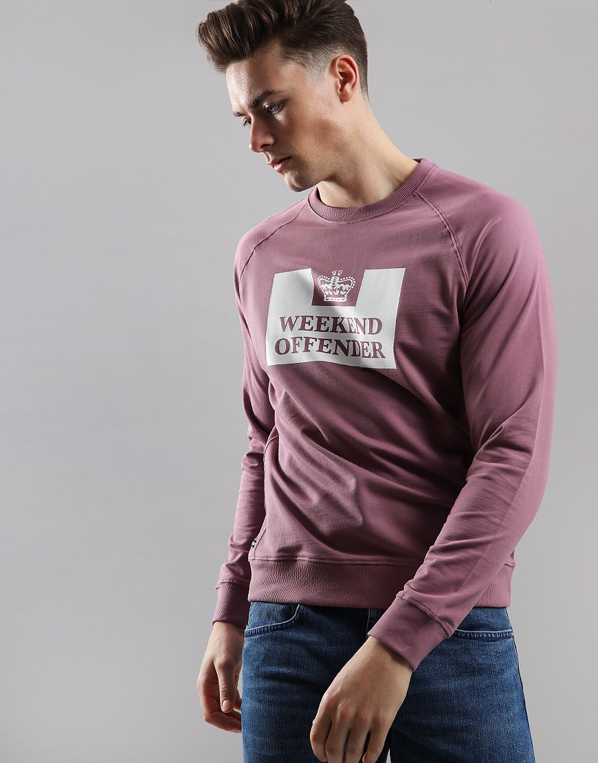 Weekend Offender Penitentiary Sweat Plum