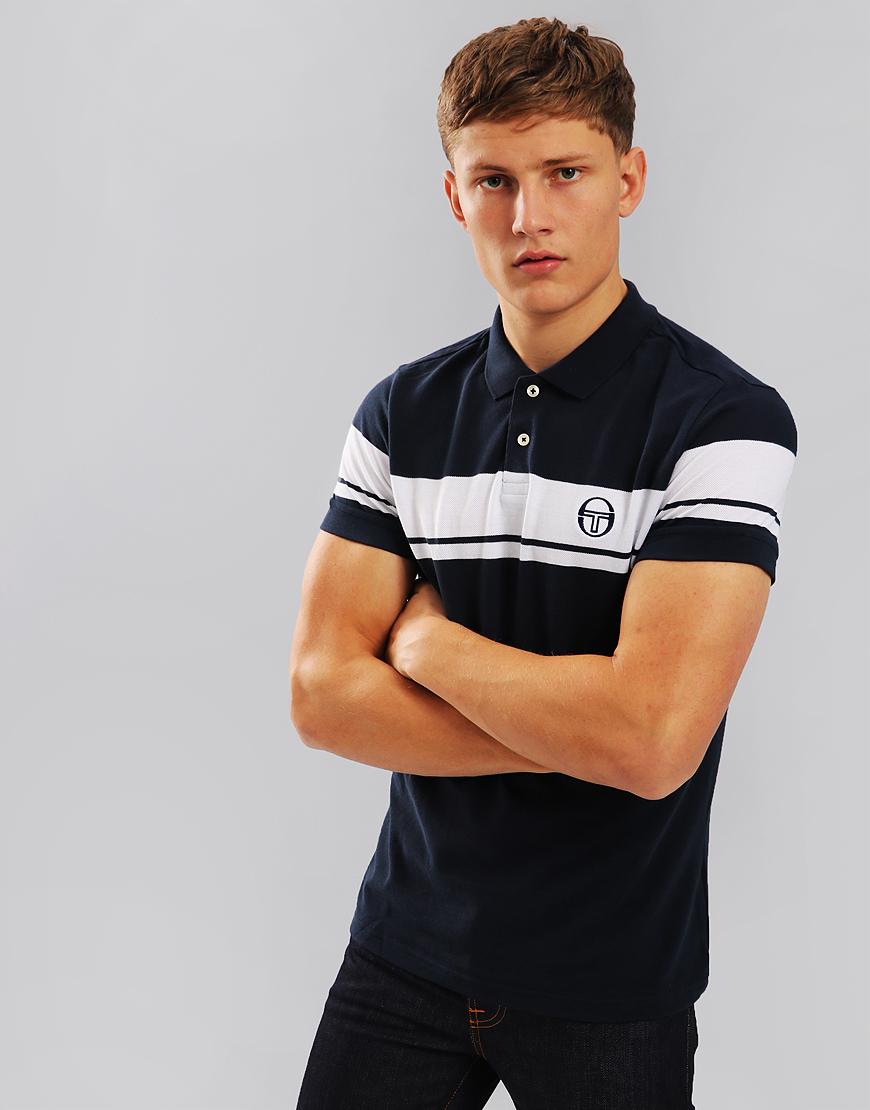 Sergio Tacchini Young Line Polo Shirt Navy