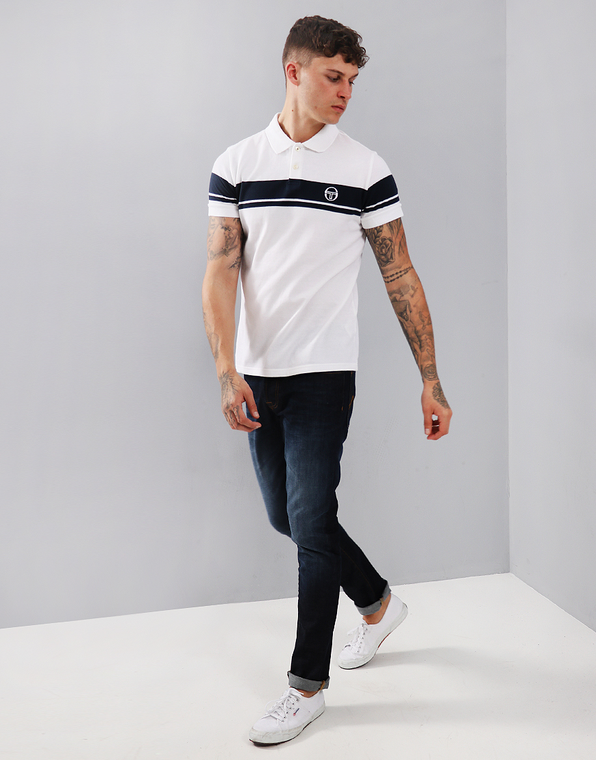 Sergio Tacchini Young Line Polo Shirt White